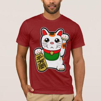 Maneki Neko: 日本ので幸運な猫 Tシャツ