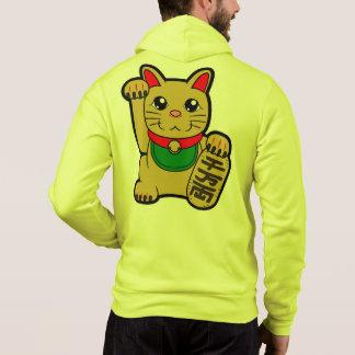 Maneki Neko: 金幸運な猫 パーカ