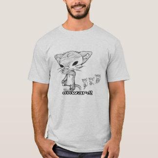 Manemals: 行進の友人! tシャツ