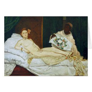 Manetのオリンピア カード