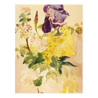 Manetのファインアートの郵便はがき ポストカード