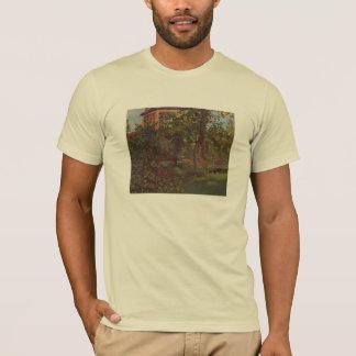 Manet著Bellevueの庭のコーナー Tシャツ