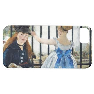 Manet鉄道のiPhone 5の例 iPhone 5 ベアリーゼアケース