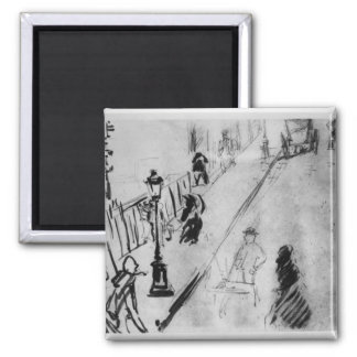 Manet |の通りMosnier、c.1878 マグネット
