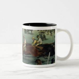 Manet |の1872年競馬 ツートーンマグカップ