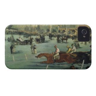 Manet |の1872年競馬 Case-Mate iPhone 4 ケース