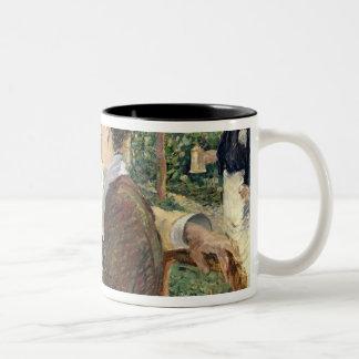 Manet | Pere Lathuille 1879年の庭 ツートーンマグカップ