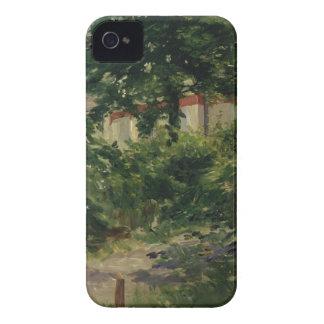 Manet | Rueil 1882年の庭のコーナー iPhone 4 Case-Mate ケース