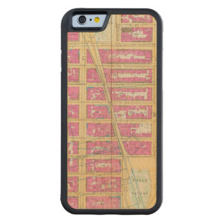 Manhatten、ニューヨーク12 CarvedメープルiPhone 6バンパーケース