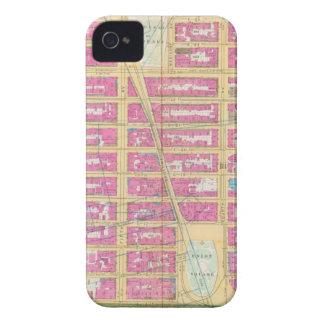 Manhatten、ニューヨーク12 Case-Mate iPhone 4 ケース