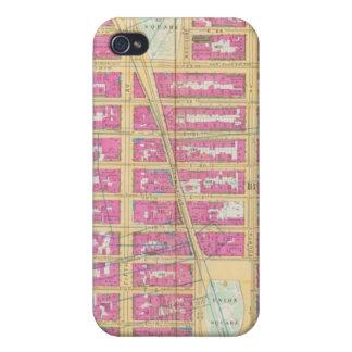 Manhatten、ニューヨーク12 iPhone 4/4Sケース
