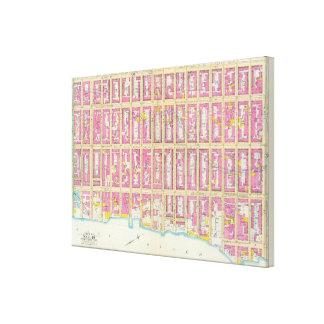Manhatten、ニューヨーク15 キャンバスプリント