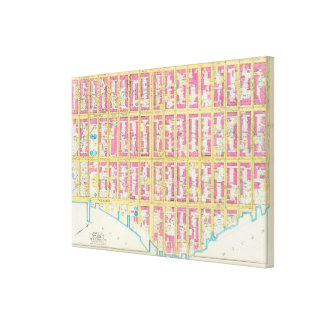 Manhatten、ニューヨーク20 キャンバスプリント