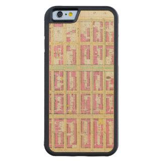 Manhatten、ニューヨーク3 CarvedメープルiPhone 6バンパーケース
