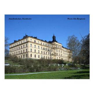 Manillaskolan、ストックホルムの写真… ポストカード