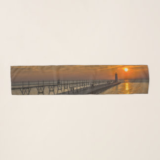 Manistee北のPierheadの灯台 スカーフ