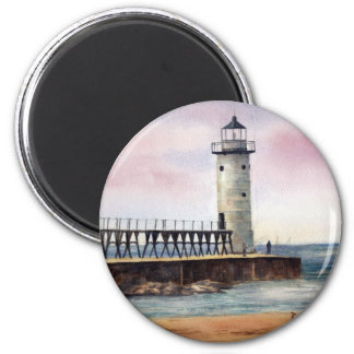 Manistee北のPierheadの軽い磁石 マグネット