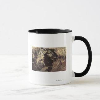 Manitouの春、コロラド州-の谷 マグカップ