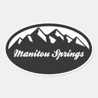 Manitouの春 楕円形シール