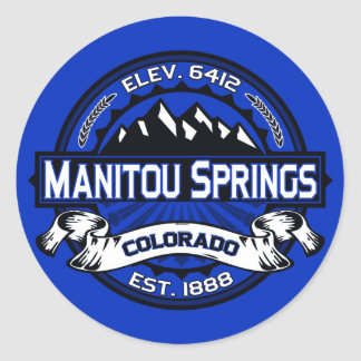 Manitouは青ロゴのはねます ラウンドシール
