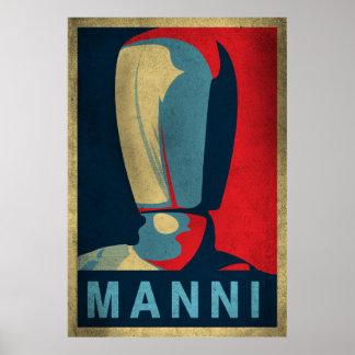 Manniマネキン ポスター