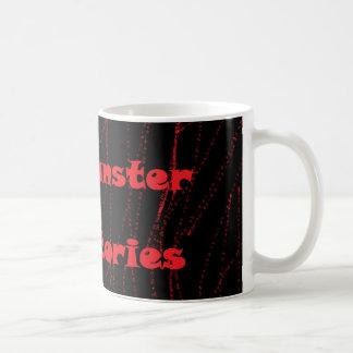 Mannymansterの恐い物語コップ及びマグ コーヒーマグカップ