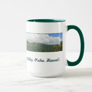 Manoaの谷、ハワイ マグカップ