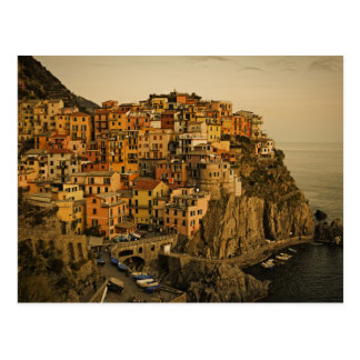 Manrola - Cinque Terreのイタリアの郵便はがき ポストカード