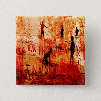 mansonのためのskimmin 5.1cm 正方形バッジ