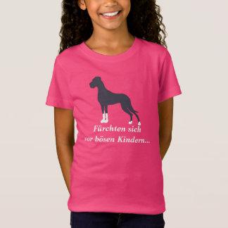 Manteldogge/ボストンふたのグレートデーン Tシャツ