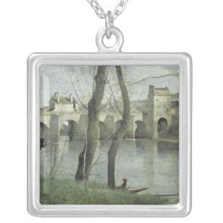 Mantesの橋 シルバープレートネックレス