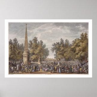 Mantua、24 Vendemiaireの賛成のVirgilの饗宴 ポスター