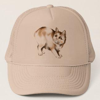 Manx猫の帽子 キャップ