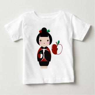 Manzanita Kokeshiのベビーのティー ベビーTシャツ