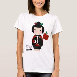 Manzanita Kokeshiの細い肩ひもの上 Tシャツ