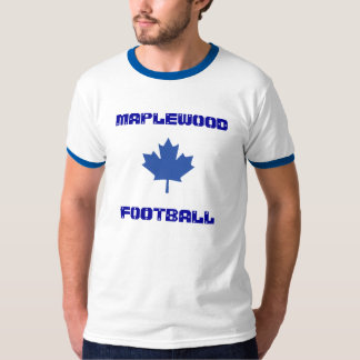 MaplewoodのフットボールのTシャツ Tシャツ
