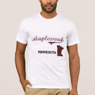 Maplewoodのミネソタ都市クラシック Tシャツ