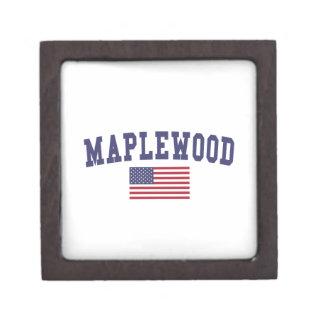 Maplewood米国の旗 ギフトボックス