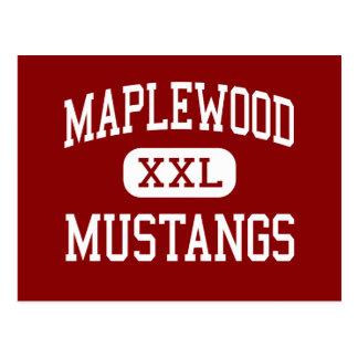 Maplewood -ムスタング-中間-グリーリーコロラド州 ポストカード