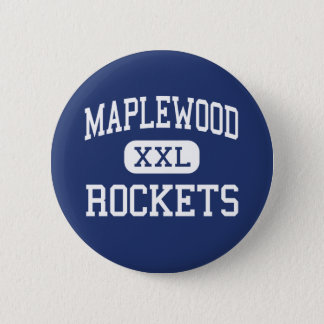 Maplewood -ロケット-高等学校- Cortlandオハイオ州 5.7cm 丸型バッジ