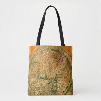 Mappa Mundi、c.1290 トートバッグ