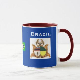 Maranhão、ブラジルMug Caneca de Maranhaoo マグカップ