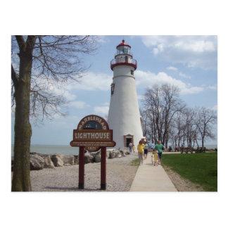 Marbleheadの灯台、オハイオ州 ポストカード