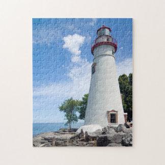 Marbleheadの灯台 ジグソーパズル