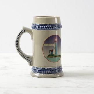 Marbleheadの灯台 ビールジョッキ