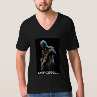 Marcのシール Tシャツ