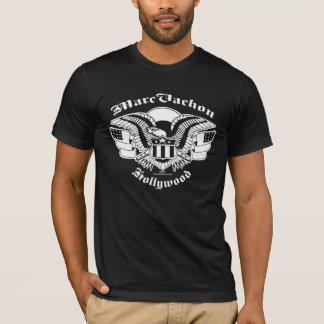 Marc Vachonの黒いジャンボワシのティー Tシャツ