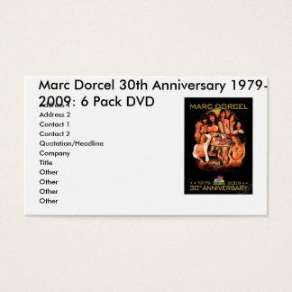 MARCDORCEL30のMarc Dorcelの第30記念日1979年… 名刺