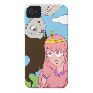 MarcelineおよびプリンセスBubblegumのマンガのスタイル Case-Mate iPhone 4 ケース