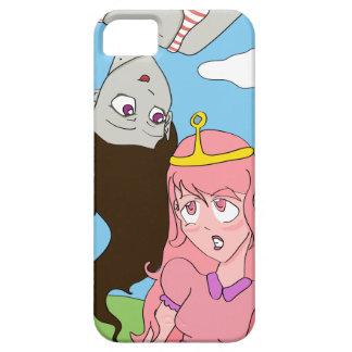 MarcelineおよびプリンセスBubblegumのマンガのスタイル iPhone SE/5/5s ケース